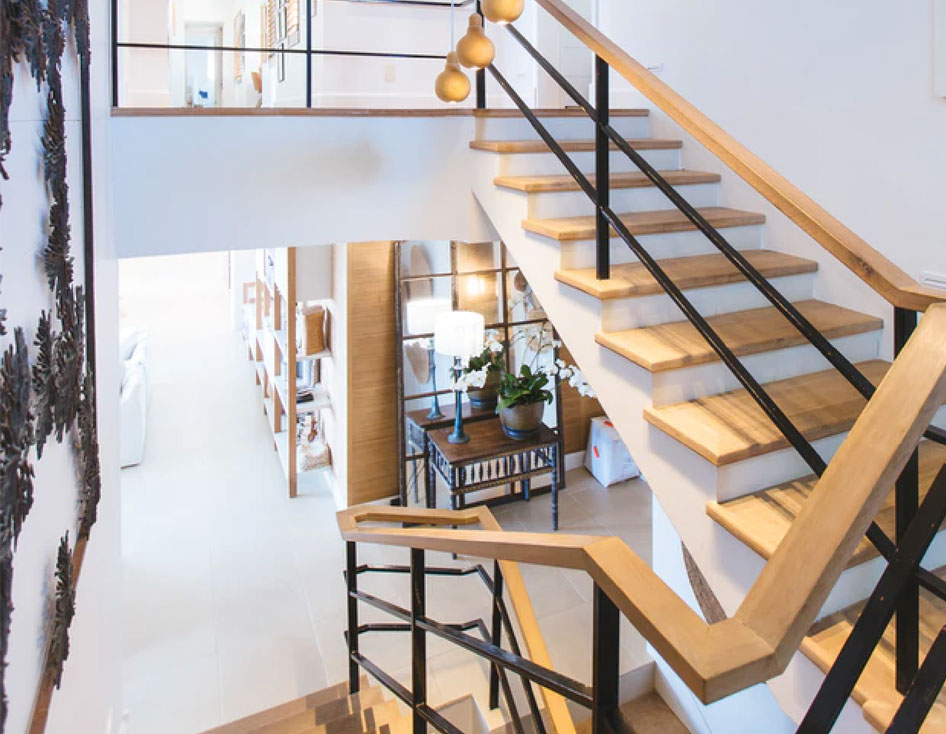 Beautiful staircase interior