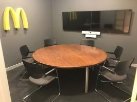 McDonalds Head office modification