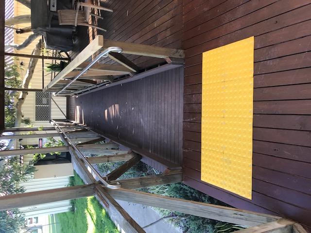 SMP facility refurbishment Access ramp