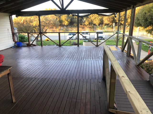 SMP facility refurbishment Decking